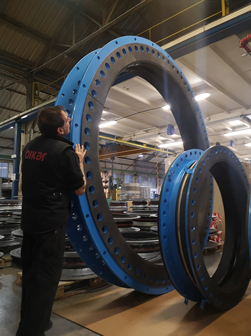 Expansion joint patch ready for a new plant in UAE