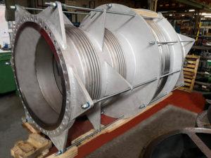 junta de expansion metálica pressure balance